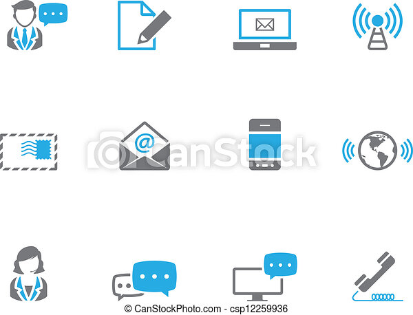 Duotone Icons - Communication - csp12259936