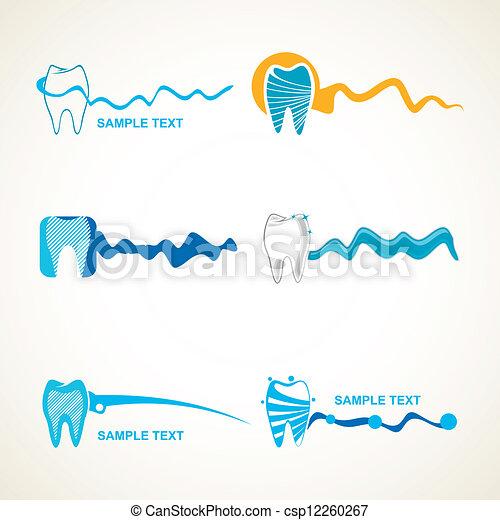 Dental Logo Vector Dental Icon in Vector Format