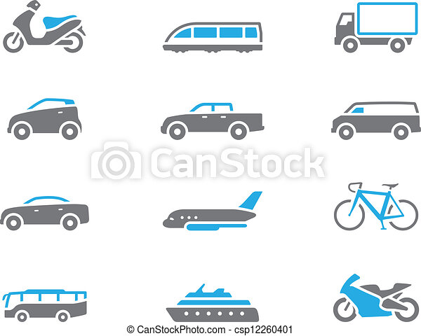 Duotone Icons - Transportation - csp12260401
