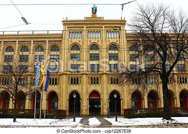 Bavaria Government Building, Munich, Germany - csp12267638