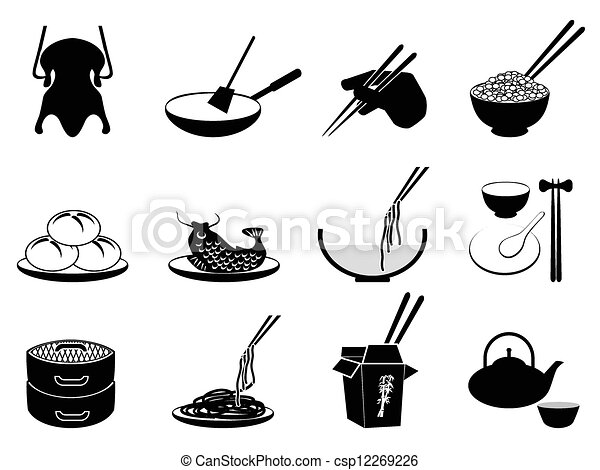 Chinese food Vector Clipart Royalty Free. 7,555 Chinese food clip ...