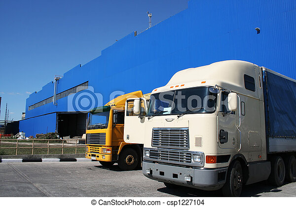 Two powerful lorries - csp1227104