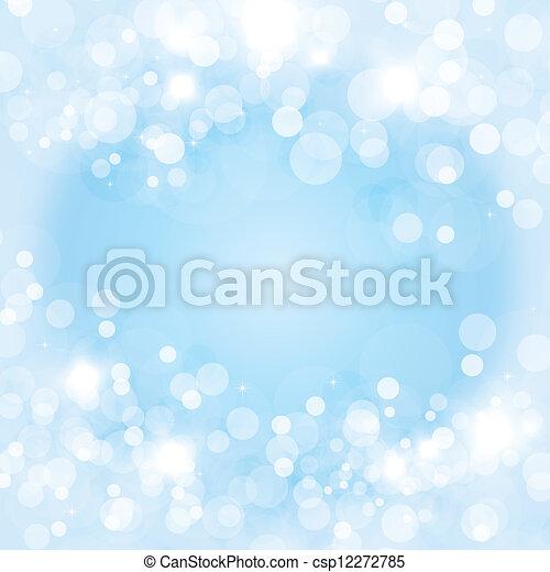 Christmas light frame - csp12272785