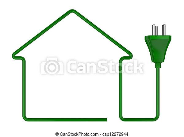 concept of green energy - csp12272944