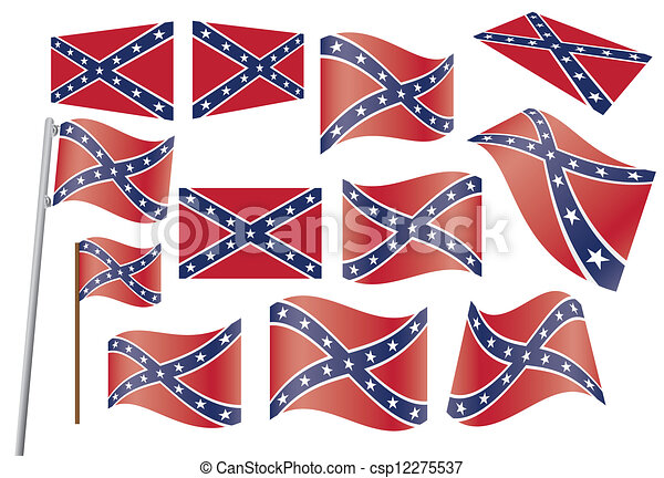 confederate flag vector clipart eps images. 4,905 confederate flag