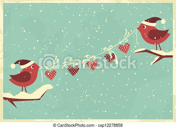 Valentine's Day/Christmas Greeting  - csp12278858