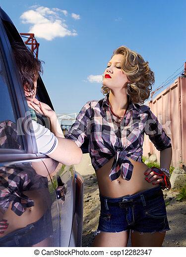 autostopista esposa
