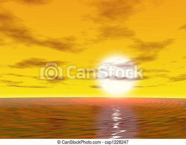 Sunrise - csp1228247