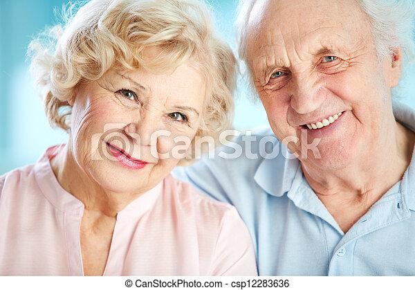 Charming elders - csp12283636