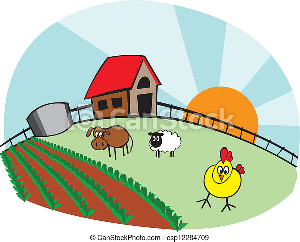 Image Result For Farmhouse Cartoon Black And White
