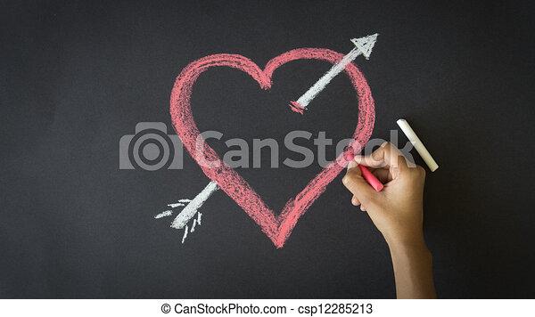 Valentines Day Heart - csp12285213