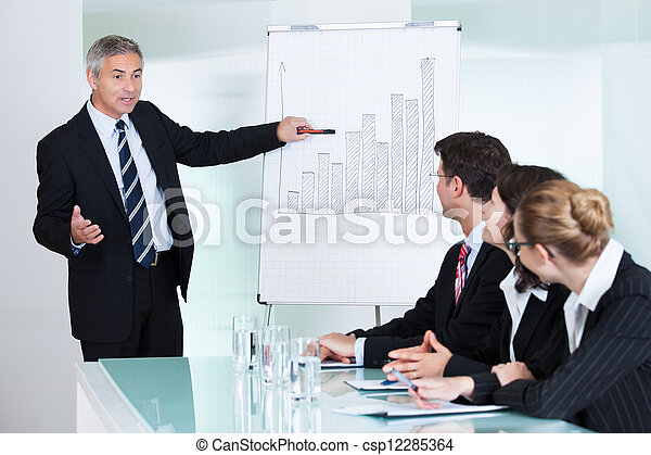 In-house business training - csp12285364