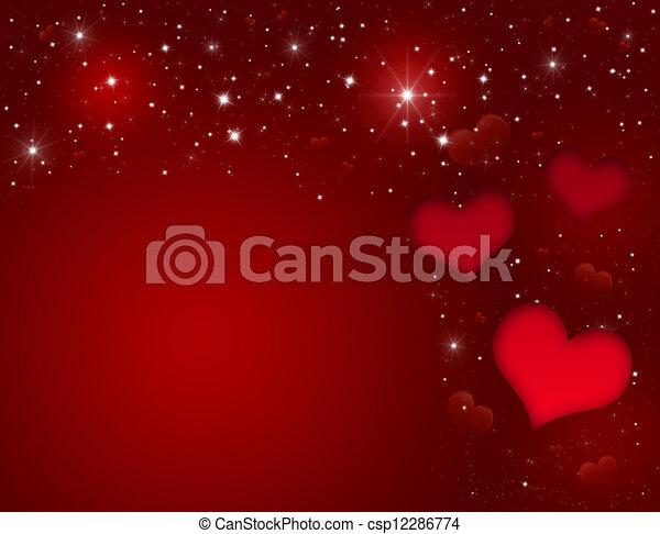 Valentines Day Card - csp12286774
