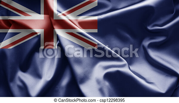 Flag of Government Ensign of United Kingdom - csp12298395