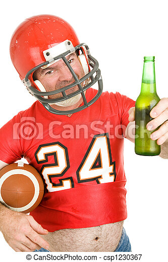 Sports Fan - Have a Cold One - csp1230367