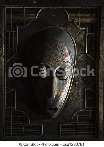 Indonesian mask - csp1230761