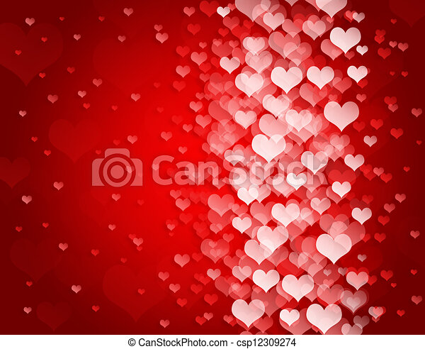 Abstract background to the Valentine's day - csp12309274