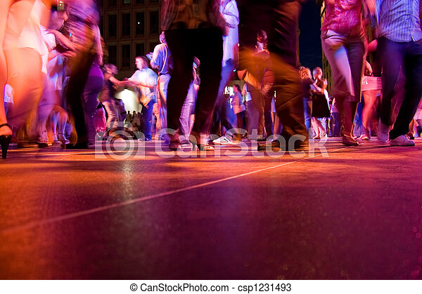 Dance Floor Movement - csp1231493