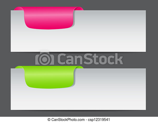 Sale banner with place for your text. vector illustration - csp12319541