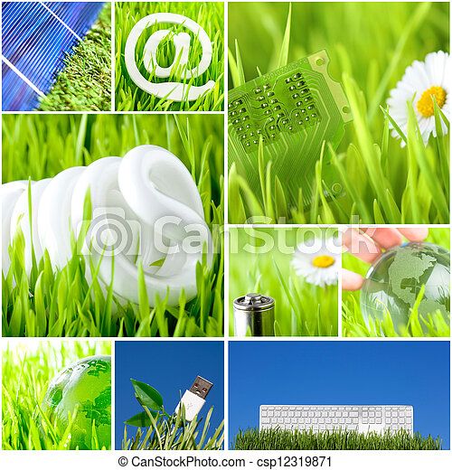 environment and green energy concept - csp12319871