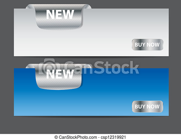 Sale banner with place for your text. vector illustration - csp12319921