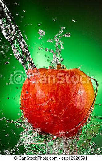 Fuji Apple Splash
