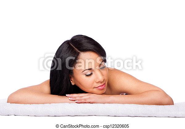 Spa skincare cosmetics beauty face - csp12320605