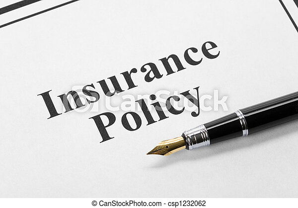Insurance Policy - csp1232062