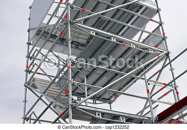 Aluminum scaffolding - csp1232252