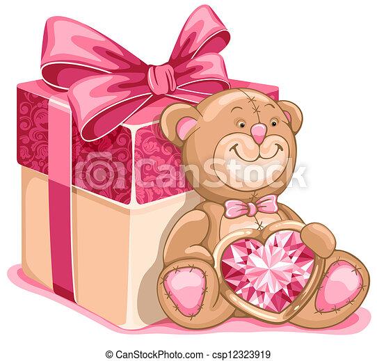 Teddy Bear toy - csp12323919