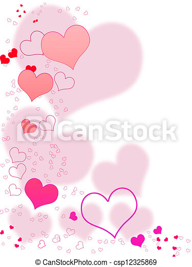 Valentines Day Card - csp12325869