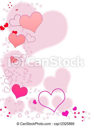 Valentines Day Card - csp12325869
