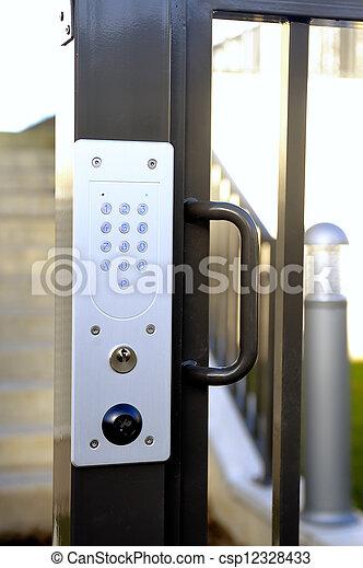 Stock Photos Of Door Code Of Entry Of Building Door Code Of Entry From C