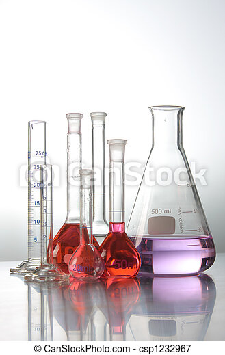 science and medical test tubes - csp1232967
