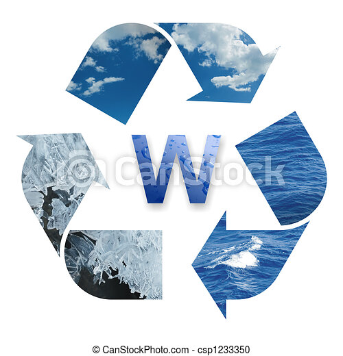 Recycling water - csp1233350