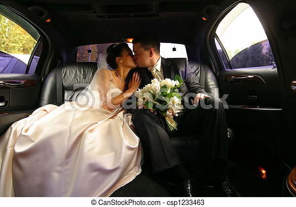 Newly married pair