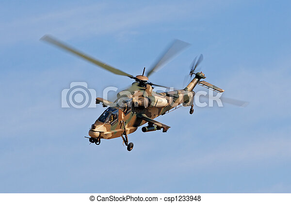 Military helicopter - csp1233948
