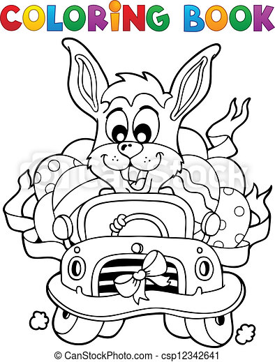 Coloring Book With Easter Theme 7