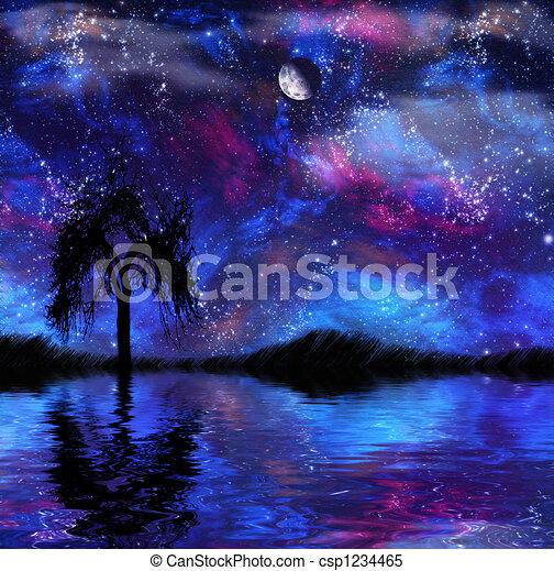 Fantasy Landscape - csp1234465