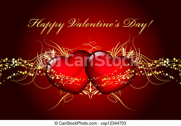 Happy Valentines Day - csp12344703