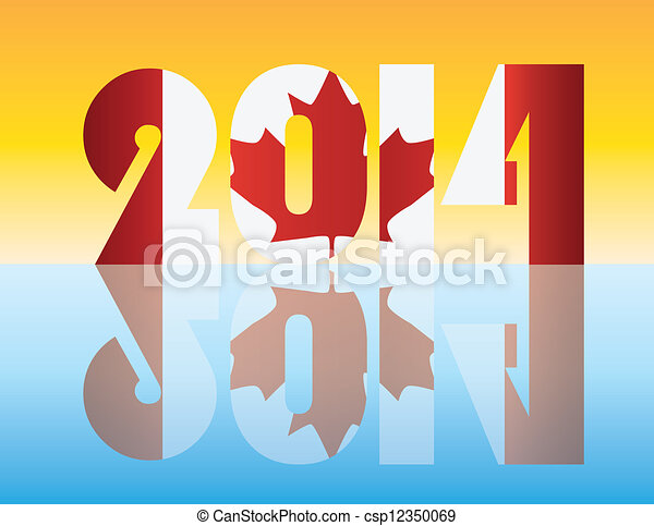 Canadian Flags Over The Years New Year 2014 Canada Flag