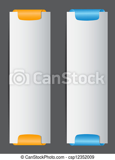 Sale banner with place for your text. vector illustration - csp12352009