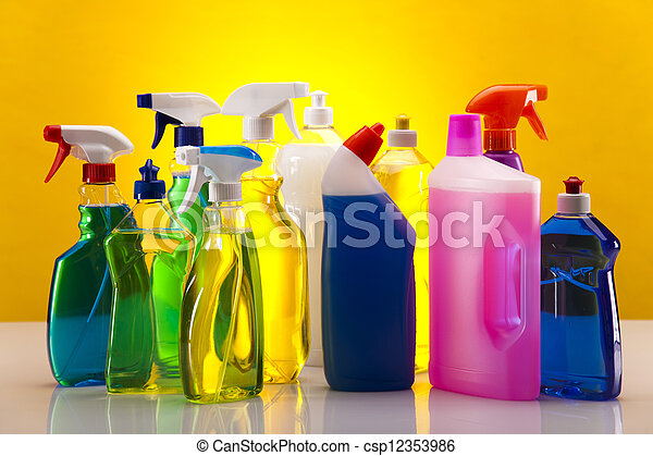 Cleaning products - csp12353986