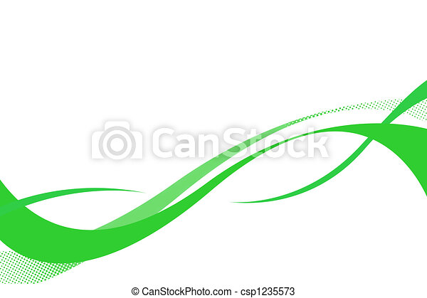 Flowing Swoosh Curves - csp1235573