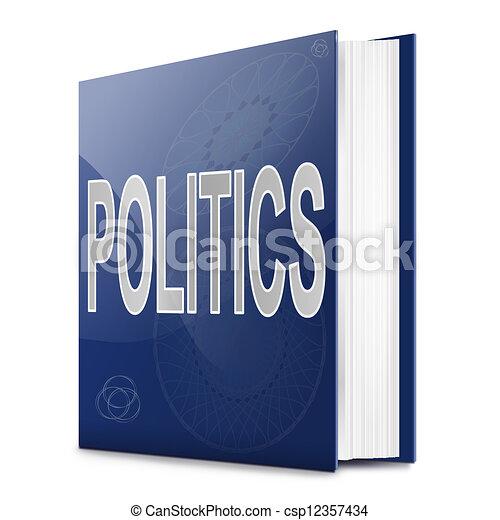 Politics text book. - csp12357434