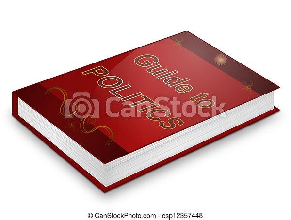 Politics text book. - csp12357448
