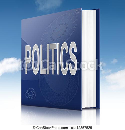 Politics text book. - csp12357529