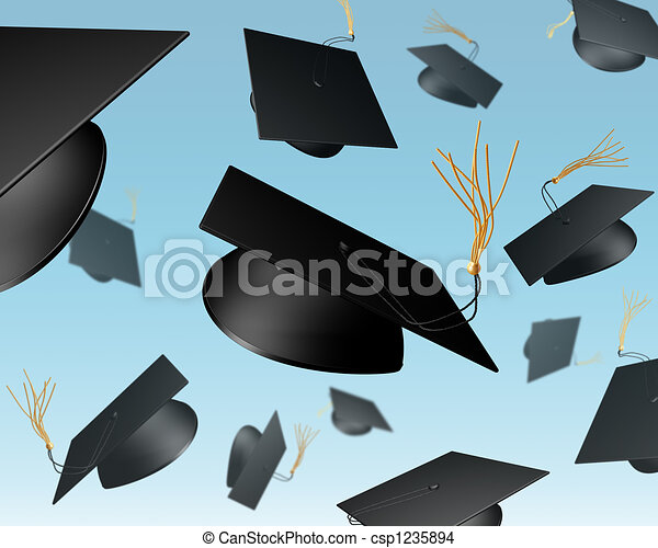 Mortar Board chuck - csp1235894