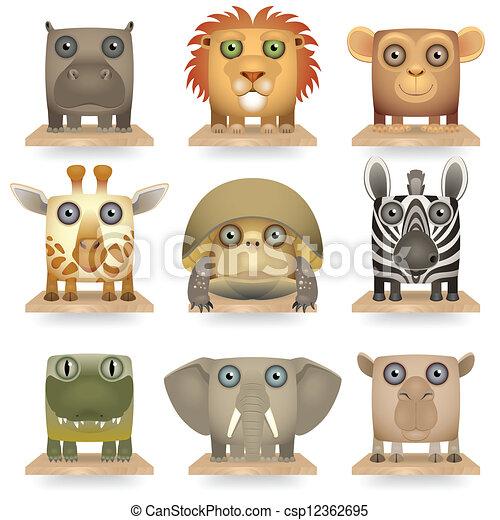 Animals of Africa - csp12362695