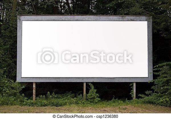billboard - csp1236380